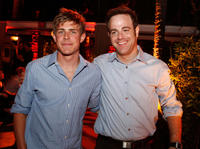 Chris Lowell and Paul Adelstein at the ABC launch party for