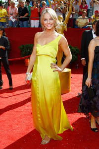 Anastasia Griffith at the 60th Primetime Emmy Awards.