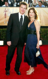 Jason Bateman and his wife Amanda Anka at the 11th Annual Screen Actors Guild Awards in Los Angeles.