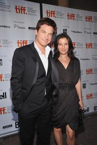 Jason Bateman and Amanda Anka at the Toronto premiere of
