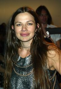 Justine Bateman at the Lords fashion show at Mercedes Benz Fashion Week.