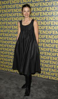 Justine Bateman at the Fendi celebration of the redesign of its Rodeo Drive flagship store.