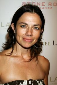 Justine Bateman at the Stone Rose Lounge and Simon LA preview.
