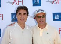 Joe Mantegna and Andy Garcia at the 9th annual American Film Institute Golf Classic at the Trump National Golf Club.