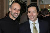David Marciano and Benito Martinez at the AFI Awards 2008 reception.