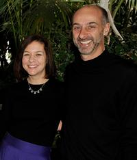 Cathy Cahlin and David Marciano at the AFI Awards 2008.