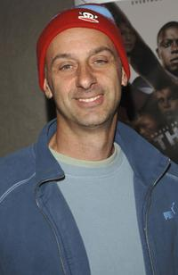 David Marciano at the premiere screening of