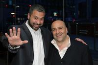Ahmed Ahmed and Omid Djalili at the special performance of