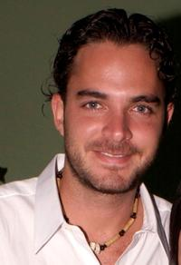 Manolo Cardona at the 2002 Billboard Latin Music Awards Reception.