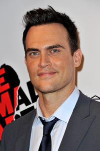 Cheyenne Jackson at the after party of the Broadway opening night of