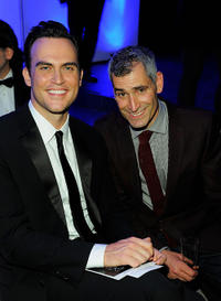 Cheyenne Jackson and Guest at the 2nd Annual amfAR Inspiration Gala in New York.