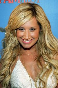 Ashley Tisdale at the premiere of