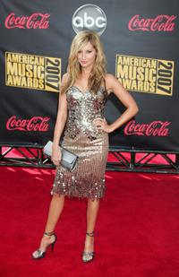 Ashley Tisdale at the 2007 American Music Awards.