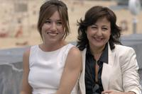 Lola Duenasatt and Carmen Machi at the photocall of