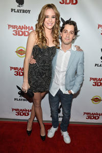 Danielle Panabaker and Matt Bush at the California premiere of