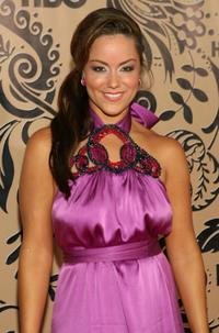 Katy Mixon at the HBO's post Emmy Awards reception.