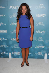 Katy Mixon at the Variety's 2nd Annual Power Of Women Luncheon in California.
