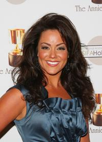 Katy Mixon at the 36th Annual Annie Awards.