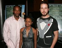 Anthony Mackie, Shareeka Epps and Ryan Gosling at the premiere of