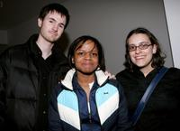 Director Ryan Fleck, Shareeka Epps and writer Anna Boden at the screening of