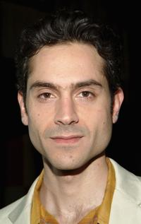 Omar Metwally at the curtain call and after party of
