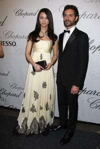 Tang Wei and Omar Metwally at the Chopard Trophy Award.