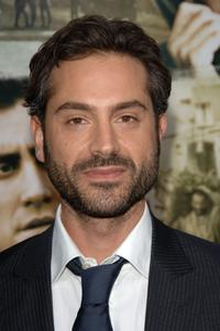 Omar Metwally at the premiere of
