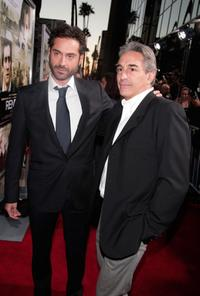 Omar Metwally and Marcus Viscidi at the Los Angeles premiere of