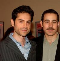 Omar Metwally and Waleed F. Zuaiter at the opening night of