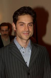 Omar Metwally at the opening night of