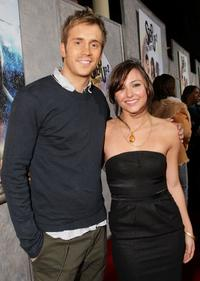 Robert Hoffman and Briana Evigan at the world premiere of