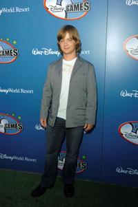 Jason Earles at the Disney Channel Games 2007 All-Star party.