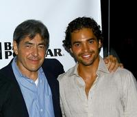 Jaime Terilli and Ramon Rodriguez at the after party of the screening of