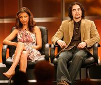 Meta Golding and Ramon Rodriguez at the 2006 Summer Television Critics Association Press Tour.