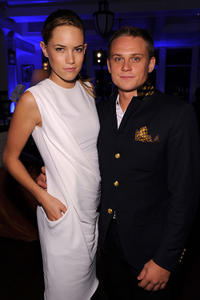 Cody Horn and Billy Magnussen at the after party of the New York premiere of