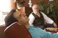 Eugenio Derbez as Javier and Hector Ortega as Edmundo in ``No Eres Tu, Soy Yo.''