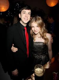 Christopher Minz-Plasse and Chloe Grace Moretz at the after party of the European premiere of