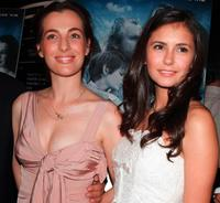 Ayelet Zurer and Nina Dobrev at the premiere of