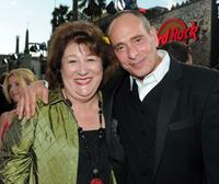 Margo Martindale and Nestor Serrano at the premiere of