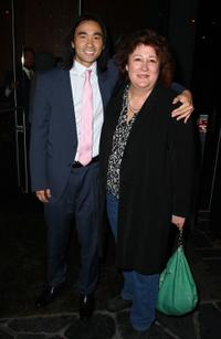 James Hiroyuki Liao and Margo Martindale at the Cinema Society and Tommy Hilfiger screening of