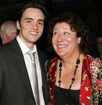 Vincent Piazza and Margo Martindale at the after party of the premiere of