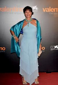 Elsa Martinelli at the premiere of