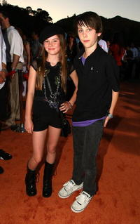 Madeline Carroll and Guest at the world premiere of