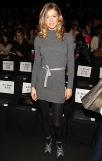 Adrianne Palicki at the BCBGMaxAzria Fall 2009 fashion show during the Mercedes-Benz Fashion Week.