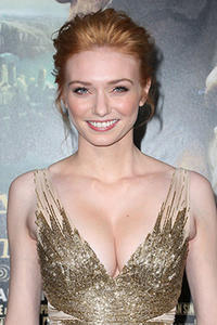 Eleanor Tomlinson at TCL Chinese Theatre for the premiere of