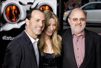 Director DJ Caruso, Sarah Roemer and Joe Medjuck at the premiere of