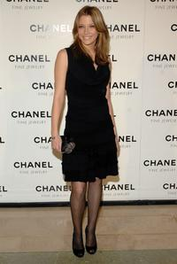 Sarah Roemer at the Chanel Fine Jewelry's Night of Diamonds dinner.