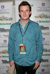 Joe Swanberg at the Night of 1,000 Stars during the Sarasota Film Festival.