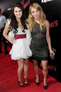 Scout-Taylor Compton and Stella Maeve at the premiere of