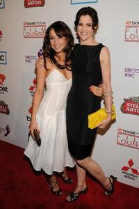 Stella Maeve and Ally Sheedy at the premiere of